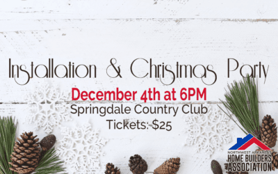 Installation & Christmas Party – Save the Date